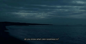 What Color: do you know what color loneliness is?