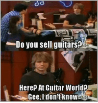 https://t.co/ah6La9a1Cq: Do you sell guitars?  Here? At Guitar World?  Gee,Idontknow  11142:51 https://t.co/ah6La9a1Cq