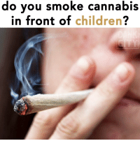 You blaze in front of kids? @dankcity: do you smoke cannabis  in front of children? You blaze in front of kids? @dankcity