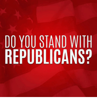 America, Memes, and News: DO YOU STAND WITH  REPUBLICANS? Do you stand for a strong economy, lower taxes, and a greater America? Stand with Republicans → https://nrcc.news/2AGnMcz