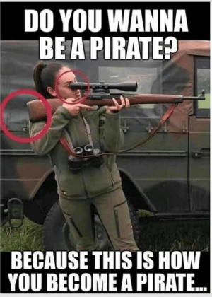 Yar?: DO YOU WANNA  BE A PIRATE?  BECAUSE THIS IS HOW  YOU BECOME A PIRATE.. Yar?