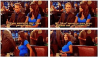 Barney, Memes, and Video Games: Do you wanna go play video  games naked?  No.Idon't wanna go play video  dames nak orcourse I do! Barney accidentally touching Robin's boob is one of my favorite HIMYM bloopers 😂 https://t.co/XMh0wEv5tA