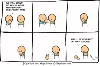 By Kris. Tag a brand new parent. Congratulations!!(?)⠀ ⠀ Want more comics and less babies? Head on over to www.explosm.net.: DO YOU WANT  TO HOLD YOUR  NEPHEW FOR  THE FIRST TIME  WELL, IT DOESN T  DO ANY TRICKS  Cyanide and Happiness Explosm.net By Kris. Tag a brand new parent. Congratulations!!(?)⠀ ⠀ Want more comics and less babies? Head on over to www.explosm.net.
