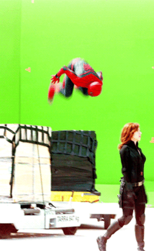 "America, Captain America: Civil War, and Spider: doc-zaius: eric-coldfire:  waititi:  Tom Holland on the set of Captain America: Civil War  Young spider shows off to momma spider who can't be bothered.  ""Mom, are you watching? Mom! Mom! You're not watching!"""