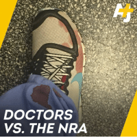 Doctors across the U.S. are speaking out against the NRA after it said gun control is none of their business.: DOCTORS  VS. THE NRA Doctors across the U.S. are speaking out against the NRA after it said gun control is none of their business.