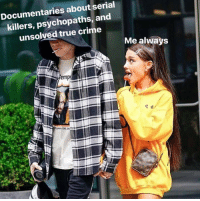 unsolved: Documentaries about serial  killers, psychopaths, and  unsolved true crime  Me always  emp