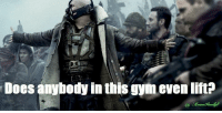 Gym, Love, and Memes: Does anybody in this gym evenlift? The feeling I get walking into Planet Fitness.