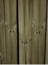 Faces-In-Things, Rabbits, and Three: Does anyone else see three rabbits in this fence? https://t.co/SA65rWoIyF
