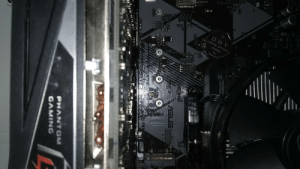 Does anyone have any idea how I would loosen these PCIe screws? Asus Prime B450m-a: Does anyone have any idea how I would loosen these PCIe screws? Asus Prime B450m-a