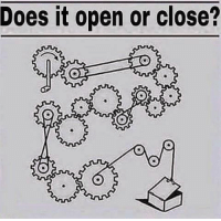 Memes, 🤖, and Asvab: Does it open or close? Question 34 on the ASVAB?  DV Daniel