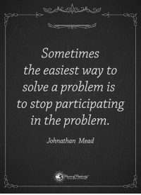 Memes, Saw, and 🤖: Does  Sometimes  the easiest way to  solve a problem is  to stop participating  in the problem.  Johnathan Mead I just watched a movie… That changed my life forever… I will never forget the day that I saw this short movie because it's reshaping the way I think about just about everything. You can watch it right here… http://bit.ly/LoveLoa