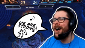 Doesn't @BlizzHeroes just make you wanna bust out in song sometimes?  It sure does for @TrikSlyr, especially when clutching out another close game!  He and the How We Do squad take to TOD in order to prove their mettle on this latest stream clip!  📺https://t.co/iOwM7GGgaV https://t.co/PpAkI9EaDi: Doesn't @BlizzHeroes just make you wanna bust out in song sometimes?  It sure does for @TrikSlyr, especially when clutching out another close game!  He and the How We Do squad take to TOD in order to prove their mettle on this latest stream clip!  📺https://t.co/iOwM7GGgaV https://t.co/PpAkI9EaDi