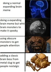 brains meme and brain doing a normal expanding brain meme doing a expanding