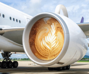 Don't be latte for your flight: Don't be latte for your flight