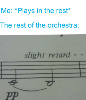 Don't play in a whole orchestra rest: Don't play in a whole orchestra rest
