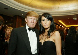 Donald and Melania Trump, shortly after their marriage: Donald and Melania Trump, shortly after their marriage