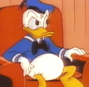25 Best Donald Duck Sleeping Memes Gif Memes Bed Memes