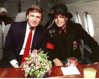 Donald J. Trump and Michael Jackson, alongside Osama Bin Laden, plotting to destroy the World Trade Center (Late 1980s): Donald J. Trump and Michael Jackson, alongside Osama Bin Laden, plotting to destroy the World Trade Center (Late 1980s)