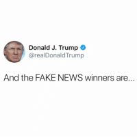 "Abc, cnn.com, and Donald Trump: Donald J. Trump  @realDonaldTrump  And the FAKE NEWS winners are. PresidentTrump has released the list of winners for his ""Fake News Awards"" and are as follows: 1. The New York Times' Paul Krugman claimed on the day of President Trump's historic, landslide victory that the economy would never recover. 2. ABC News' Brian Ross CHOKES and sends markets in a downward spiral with false report. 3. CNN FALSELY reported that candidate Donald Trump and his son Donald J. Trump, Jr. had access to hacked documents from WikiLeaks. 4. TIME FALSELY reported that President Trump removed a bust of Martin Luther King, Jr. from the Oval Office. 5. Washington Post FALSELY reported the President's massive sold-out rally in Pensacola, Florida was empty. Dishonest reporter showed picture of empty arena HOURS before crowd started pouring in. 6. CNN FALSELY edited a video to make it appear President Trump defiantly overfed fish during a visit with the Japanese prime minister. Japanese prime minister actually led the way with the feeding. 7. CNN FALSELY reported about Anthony Scaramucci's meeting with a Russian, but retracted it due to a ""significant breakdown in process."" 8. Newsweek FALSELY reported that Polish First Lady Agata Kornhauser-Duda did not shake President Trump's hand. 9. CNN FALSELY reported that former FBI Director James Comey would dispute President Trump's claim that he was told he is not under investigation. 10. The New York Times FALSELY claimed on the front page that the Trump administration had hidden a climate report. 11. And last, but not least: ""RUSSIA COLLUSION!"" Russian collusion is perhaps the greatest hoax perpetrated on the American people. THERE IS NO COLLUSION! 🇺🇸 WSHH"