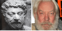 Time, Classical Art, and Donald Sutherland: Donald Sutherland is a time traveler