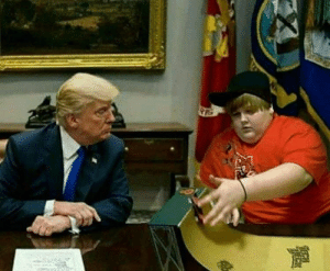 Donald Trump, Iran, and Trump: Donald Trump and Mike Pompeo discuss about quitting the Iran Nuclear Deal, circa 2018