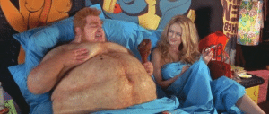 Donald Trump and Stormy Daniels lay in bed together (2006): Donald Trump and Stormy Daniels lay in bed together (2006)