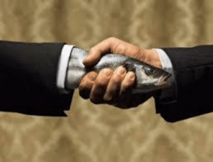 Donald Trump, Fish, and Trump: Donald Trump Making A Deal With The Fish People To Win The Election (2016)