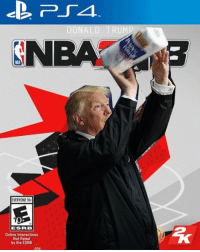 Donald Trump, Internet, and Memes: DONALD TRUMP  SN  NIA  EVERYONE  ESRB  Online Interactions  Nct Rated  by the ESREB  ons Internet remains undefeated 😂🏀 @worldstar WSHH