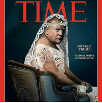 Sold... Bought...Prostituted...: DONALD  TRUMP  VLADIMIR PUTIN S  BLUSHING BRIDE Sold... Bought...Prostituted...