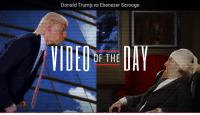 Bad, Dank, and 🤖: Donald Trump vs Ebenezer Scrooge  OF THE Bah humbug meets bad hairpiece → http://yt.be/CW94