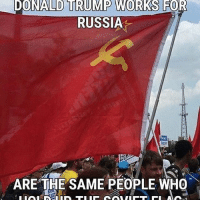 America, Donald Trump, and Facebook: DONALD TRUMP WORKS FOR  RUSSIA  ARE THE SAME PEOPLE WHO Yeah, lefties don't make a whole lot of sense... @theunapologeticpatriot ussr antifa commies liberals libbys democraps liberallogic liberal ccw247 conservative constitution presidenttrump resist stupidliberals merica america stupiddemocrats donaldtrump trump2016 patriot trump yeeyee presidentdonaldtrump draintheswamp makeamericagreatagain trumptrain maga Add me on Snapchat and get to know me. Don't be a stranger: thetypicallibby Partners: @theunapologeticpatriot 🇺🇸 @too_savage_for_democrats 🐍 @thelastgreatstand 🇺🇸 @always.right 🐘 @keepamerica.usa ☠️ @republicangirlapparel 🎀 @drunkenrepublican 🍺 TURN ON POST NOTIFICATIONS! Make sure to check out our joint Facebook - Right Wing Savages Joint Instagram - @rightwingsavages