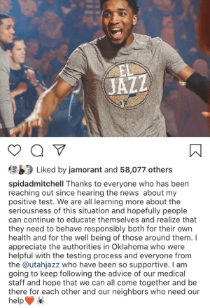 Donovan Mitchell's IG post ❤️🕷 https://t.co/NRjByT9Rt1: Donovan Mitchell's IG post ❤️🕷 https://t.co/NRjByT9Rt1