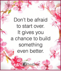 I just watched a movie… That changed my life forever… I will never forget the day that I saw this short movie because it's reshaping the way I think about just about everything. You can watch it right here… http://bit.ly/LoveLoa: Don't be afraid  to start over  It gives you  a chance to build  something  even better  Power I just watched a movie… That changed my life forever… I will never forget the day that I saw this short movie because it's reshaping the way I think about just about everything. You can watch it right here… http://bit.ly/LoveLoa