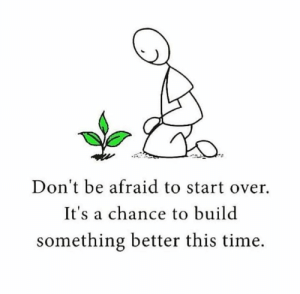 Memes, Time, and 🤖: Don't be afraid to start over.  It's a chance to build  something better this time.