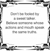 How to be a sweet talker