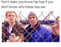 Hip Hop, Who, and Hop: Don't claim you know hip hop if you  don't know who these two are  20  NY