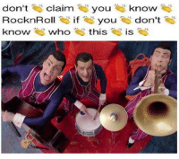 Dank, 🤖, and Who: don't  claim  you know  RocknRoll  if you  don't  know who  this  IS