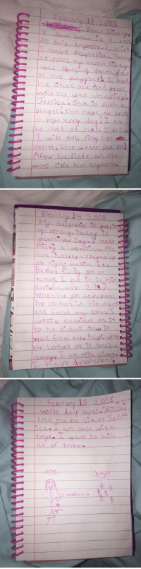 """found my diary from when I was 7"" I'm dying😂😂💀: Dont  do this anymore  asing other gidsl  on the player  S was chasing.  escisa She such.  so mad I think  After he finds out   Valentines Day made  and That e stayed up  all night n t e  When he got school  was from at  he looks ed at Rt tho ow   rybraryr 15 700g  uca ot am /roque woth  Douse T want to koll  (Lu of the no  Dy's  s  0466 s  소 ""found my diary from when I was 7"" I'm dying😂😂💀"