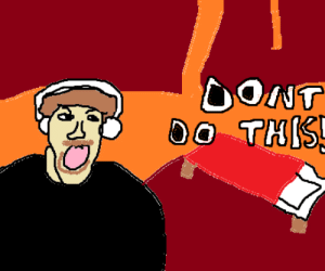 Minecraft, Lost, and New: DONT  DO THIS drawing crappy pewdiepie minecraft thumbnails part 5 / dOnT lEt tHiS gET lOSt iN nEW