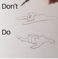Friends, Memes, and Best: Don't  DO @zhcomicart Basic tips for drawing dynamic hands Also thanks so much for 430k followers ☺️❤️ you guys are the best! Make sure you TAG friends in the comments👇👇 (This video is for drawing correct proportions and shapes for my comic book styled art and may not apply to other styles!!) Step 1 👉 When fingers are relaxed, they do not point straight out. Notice how the bent fingers look a lot more natural and a lot less stiff compared to the top Step 2 👉 Make sure you define the joints on the fingers otherwise it will end up looking like a sausage finger. The finger has bumps on both sides where the joints are. Step 3 👉 Remember that the underdrawing is very important and skipping it can lead to stiffer drawings and incorrect proportions. It is good to keep in mind how it can effect the overall outcome and for me the drawing comes out very stiff without a good underlying shape. Hope these tips help with your art! Let me know in the comments if this helped☺️ and SHARE this with a friend if you thought it was helpful😃🙂 . . . . PromotedByLatruth latruth celebritypromoter