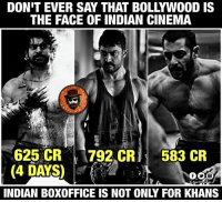 Life, Memes, and Power: DON'T EVER SAY THAT BOLLYWOOD IS  THE FACE OF INDIAN CINEMA  RAG  ERTAT  625 CR 7922 CR  583 CR  (4 DAYS  INDIAN BOXOFFICE IS NOT ONLY FOR KHANS Done with Sultan Life time collections...Inko 2-3 days lo PK kuda out!! Telugodi power ento prapanchaniki teliyachesam !!❤