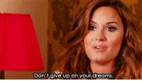 Http, Dreams, and Net: Don't give up on your dreams. http://iglovequotes.net/