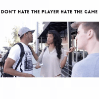 Memes, Joggers, and 🤖: DON'T HATE THE PLAYER HATE THE GAME Better be careful out here trying to talk to those women 😂😂😂...TAG A FRIEND!!! ➖➖➖➖➖➖➖➖➖➖➖➖➖ Video with @lailaodom @tyheadlee Filmed by: @itsjetography Hat from: @killionest Joggers from: @populardemand ➖➖➖➖➖➖➖➖➖➖➖➖➖ NellyVidz JustComedy TagBae TagAFriend