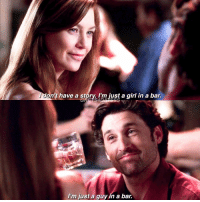 """[3x01] THIS IS SO ICONIC!!! And look how they look at each other!!! Create your own sentence: """"I'm just... [in love with Merder]."""": don't have a story. I'm just a girl in a bar.  GRA S4  I'm just a guy in a bar. [3x01] THIS IS SO ICONIC!!! And look how they look at each other!!! Create your own sentence: """"I'm just... [in love with Merder]."""""""