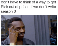 """Tumblr, Prison, and Blog: don't have to think of a way to get  Rick out of prison if we don't write  season 3  0  penin  Mon  ri <p><a href=""""http://scifiseries.tumblr.com/post/157545577796/justin-roiland-and-dan-harmon"""" class=""""tumblr_blog"""">scifiseries</a>:</p>  <blockquote><p>Justin Roiland and Dan Harmon:</p></blockquote>"""