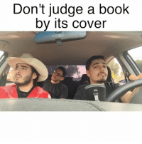 Seriously thought he knew where it was at though 🤔🤐😂 W- @mexicangueys @heyitscornflakes TeamChuy: Don't judge a book  by its Cover Seriously thought he knew where it was at though 🤔🤐😂 W- @mexicangueys @heyitscornflakes TeamChuy