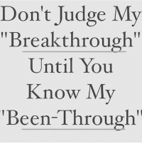 "Memes, Been, and 🤖: Don't Judge My  ""Breakthrough""  Until You  Know My  Been-Through'"