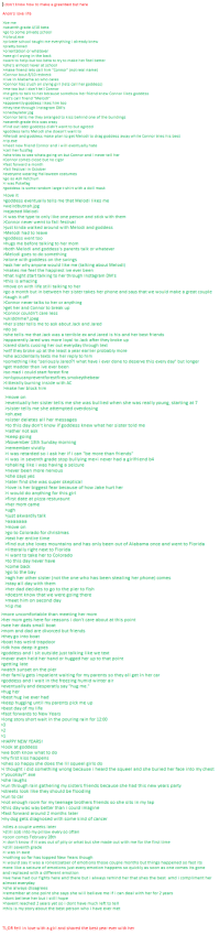 """Being Alone, Apparently, and Ash: don't know  how to make a greentext but here  Anon's love life  >be me  seventh grade 4/10 beta  go to some private school  >lolwut exe  private school taught me everything i already knew  pretty bored  orientation or whatever  see girl crying in the back  want to help but too beta to try to make her feel better  she's almost never at school  make friend lets call him """"Connor  not real name)  Connor bout 8/10 redneck  live in Alabama so who cares  Connor has crush on crying girl ets call her goddess  >me too but i don't tell Connor  he gets to talk to her because somehow her friend knew Connorlikes goddess  let's call friend """"Melodi""""  apparently goddess likes him too  they text through Instagram DM's  one day later jpg  Connor tells me they arranged to kiss behind one of the buildings  seventh grade this was crazy  find out later goddess didn't want to but agreed  goddess tells Melodi she doesn't want to  Melodi and goddess make plan to get Melodi to drag goddess away while Connor tries his best  rip exe  meet new friend Connor and i will eventually hate  call her fuzzfag  >she tries to see whats going on but Connor and l never tell her  Connor comes close but no cigar  fast forward a month  >fall festival in October  everyone wearing Halloween costumes  go as Ash Ketchum  >i was Pokefag  goddess is some random large t-shirt with a doll mask   love it  goddess eventually tells me that Melodi likes me  rejected Melodi  >i was the type to only like one person and stick with them  Connor never wemt to fall festival  just kinda walked around with Melodi and goddess  Melodi had to leave  goddess went too  hugs me before talking to her mom  both Melodi and goddess's parents talk or whatever  Melodi goes to do something  alone with goddess on the swings  ask her why anyone would like me (talking about Melodi)  makes me feel the happiest ive ever been  that night start talking to her through Instagram DM's  this is amazing  move on with lif"""