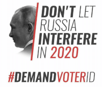 Memes, Russia, and 🤖: DON'T LE  RUSSIA  INTERFERE  IN 2020  This should make liberal heads explode...