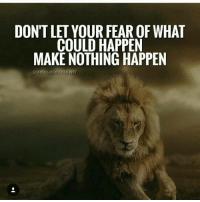 Memes, 🤖, and Sticks: DON'T LET YOUR FEAR OF WHAT  COULD HAPPEN  MAKE NOTHING HAPPEN  SCHOOLASUCCESS NET Every morning you wake up you have a choice on which voice to listen too. Let's say you buy into your fears; let's say you buy into everything you're worried about. Now fast-forward 10 years, 20 years, 50 years from now. And just say you're on your deathbed; are you okay with buying into your fears, or do you think you'd rather say I went after my dreams? Often times we will lie to our family, we'll lie to our friends about why some challenge stopped us – we can make it seem okay to other people about why you didn't make it but, there's one person you can't lie to – that person is you. You can never lie to yourself. For the rest of your life, you're going to have to deal with the fact that you bought into your fears. I don't believe that is who you are or want to be. I believe you and I are meant for something great, we are designed to succeed in life. Make sure when you're on your deathbed that you can tell the truth. But here's the interesting thing, if you stick with it long enough any dream will be made real. You just need to believe it and commit, and you will win. Via my friend @youngxdreamers school4success markiron